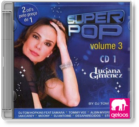cd luciana gimenez super pop volume 3